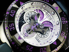 Invicta $1995 Orchid Excursion SWISS MADE Master Chrono 5040F Gunmetal SS Watch