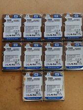 """WD Scorpio Blue WD2500BEVT-22A23T0 250GB 5400RPM 2.5"""" SATA Hard Drive Lot Of 10"""