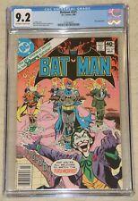 BATMAN #321 (1940) CGC 9.2 Joker Appearance !!