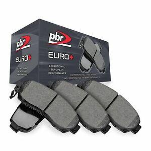 Front PBR Euro+ Brake Pads-Hybrid Brake Pad Compound 3451-0082-00