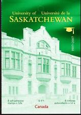 Canada 2007 Booklet #349 University of Saskatchewan