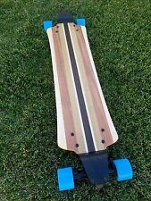 Longboard made of Wood and with Drop Plates - Balandra
