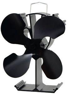 Heat Powered wood Stove Fan for wood log burner/ fireplace eco friendly fan
