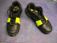 WILSON 2G Lemon-Lime& Black Leather Mens Volleyball/Indoor Court Shoes- Size 7.5