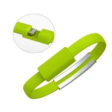 Verde cable cargador de datos para iPhone 5/5S/5C iPhone 6 ipad Pulsera