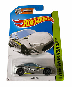Hot Wheels Scion FRS Toyota 86 - Silver - Combined Postage Available