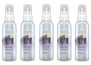 5 X AVON NATURALS SCENTED SPRITZ LINEN ROOM SPRAY Lavender & Chamomile NEWSALE
