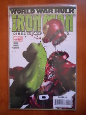IRON MAN World War Hulk #19  Marvel Comics  [SA45]