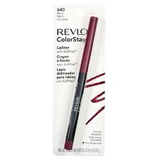 Revlon Color Stay Lip Liner with SoftFlex, Raisin [640] 1 ea (Pack of 2)