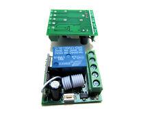 Scheda ricevente ricevitore 12v 10a 1 ch per telecomando RF 433mhz