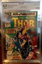 Thor #412 CBCS 6.5 (Marvel 1989) 1st Appearance of New Warriors