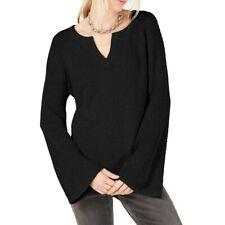 INC NEW Women's Textured Bell-sleeve V-Neck Sweater Top TEDO