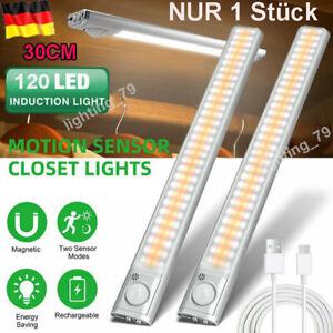 120 LED Unterbauleuchte LED Lichtleiste Küche Lampe Beleuchtung Schrank Leuchte