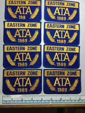 8 1989 Eastern Zone Ata Trap Shoot Patches