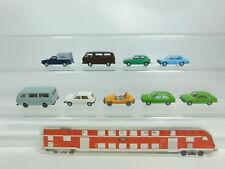 bk61-0,5 #9x WIKING H0/1:87 MODELLO VW : Campo da golf + JETTA + CADDY + PASSAT