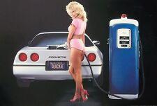 Corvette Poster-Quickie, auténtico clásico Cartel de auto, 60x90cm, coche deportivo de impresión