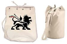 LION OF JUDAH DUFFLE BAG - College Rucksack Gym Reggae Rasta Bob Marley Backpack