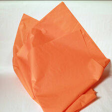New Orange Wrapping Tissue Paper - 480 Sheets