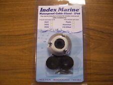 NEW INDEX Boat Waterproof Cable Gland Aluminium Rubber Marine Grommet DG 22 Rib