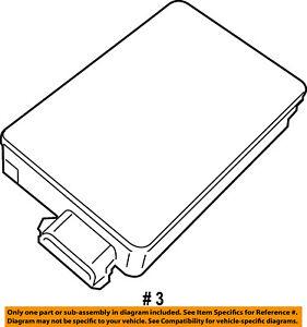 CHRYSLER OEM Parking Backup Back Up Reverse Distance-Sensor 68252465AB