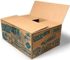CocoUrth 720 Pcs Natural Coconut Hookah Lounge Charcoal Coal(CUBES) 10kg