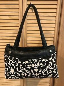 Thirty- one Handbag Black/Beige
