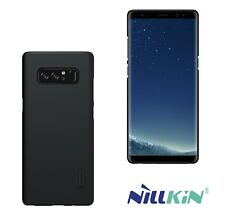 CUSTODIA COVER ORIGINALE NILLKIN® TOP PER SAMSUNG GALAXY NOTE 8 NERA + PELLICOLA