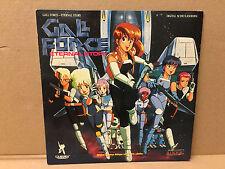 Gall Force Eternal Story Anime NTSC Laserdisc Japanese English Subs rare gail