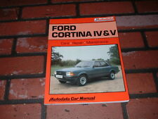 FORD CORTINA MK4 AND MK5 NEW AUTODATA MANUAL.1.3 & 1.6 LITRES.