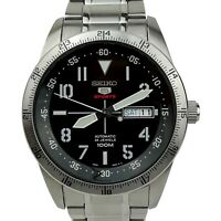Seiko 5 SRP513K1 Sports Explorer Black Automatic Stainless Steel Mens Watch £249