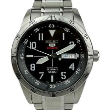 Seiko 5 Sports Explorer Black Automatic Stainless Steel Mens Watch SRP513K1 £249