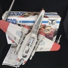 Star Wars Clone Wars Variant ARC-170 Fighter Vehicle Hasbro 2008 Toy with Box