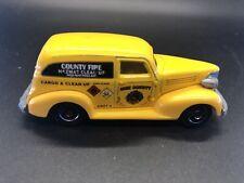 Matchbox 1939 Chevy Van, MBX County Fire Hazmat, Yellow - 2007
