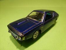 NOREV JET-CAR 823 RENAULT 17 TS COUPE - BLUE/PURPLE 1:43 - RARE - GOOD CONDITION