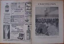L'Illustration 3321 DU 20/10/1906 INCENDIE LONGCHAMP ALESIA A. GUILLAUME CHASSE