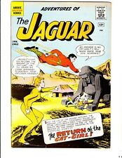 Adventures of the Jaguar 4 (1962): FREE to combine: in  Very Good-  condition