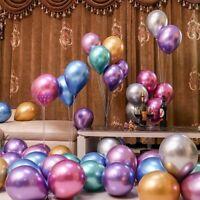 "10Pcs 10"" Balloons Bouquet Pearl Ballon Wedding Birthday Party Supplies"