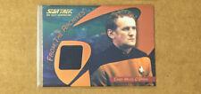 Star Trek 40th Anniversary C30 Chief Miles O'Brien Black Variant Costume Card