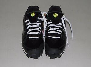 NEW Womens Girls Womens NIKE UNIFY KEYSTONE Softball Cleats Black White 5.5 6