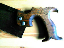 "Antique Vintage Tenon Saw 12"" / 30cm Joiners Carpenters Woodwork Hand Tool"