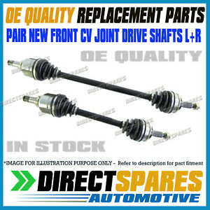 LEFT + RIGHT fits Toyota Starlet EP91R 1.3L 96-99 CV JOINT DRIVE SHAFTS