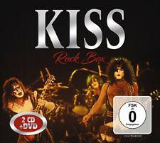 KISS New Sealed 2019 LIVE RECORDINGS, INTERVIEWS & MORE DVD & 2 CD BOXSET
