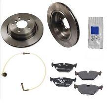 For BMW E39 525i 528i 530i 540i Premium Quality Rear Brake Kit w/ Rotors & Pads