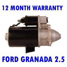 FORD GRANADA 2.5 1982 1983 - 1985 REMANUFACTURED STARTER MOTOR