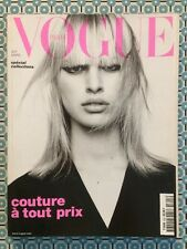 VOGUE PARIS French n°815 Mars 2001 Spécial Collections Karolina Kurkova
