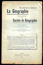 GEOGRAPHIE - AZAOUAD DJOUF (CARTE) - DAUPHINE - RENNE DU SPITZBERG - TERRE NEUVE