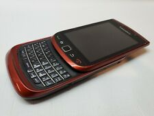 Blackberry 9800 Torch Red  Unlocked Slider Touch Screen Wifi Gps3 Batteries