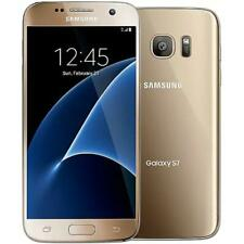Samsung Galaxy S7 - 32Gb - Gold (Gsm Unlocked At&T / T-Mobile) Smartphone - Good