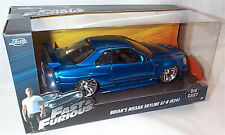 FAST & FURIOUS Brians Nissan Skyline GT-R 1/24 SCALE DIECAST OPENING FEATURES
