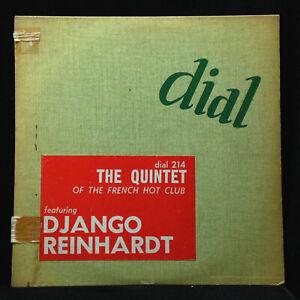 Django Reinhardt-Quintet Of The French Hot Club-Dial 214-10 INCH ORIG